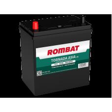 Baterie Auto Rombat Tornada ASIA 40 Ah cu borne inverse subtiri
